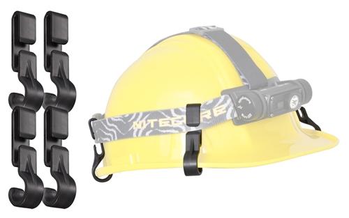 Nitecore Nhc10 Helmet Hard Hat Clips For Hc60 Hc70 Hc30