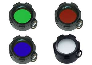 Red Green Blue filters for Olight M30