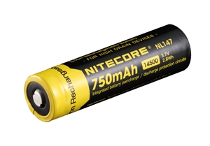 Nitecore 14500 750mAh Battery