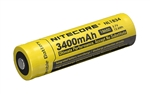 Nitecore 18650 Rechargeable Battery NL1834 3400 mAh