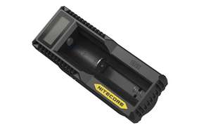 Nitecore UM10 Digital Smart Charger for 18650 17650 17670 RCR123A 16340 14500 Batteries
