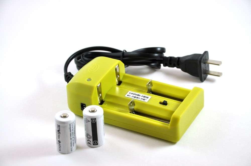 16340 rcr123a recharger kit. Black Bedroom Furniture Sets. Home Design Ideas