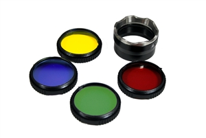 Eagletac TX5C2 Flip-Over Filter Assembly with Diffuser and Color Lens