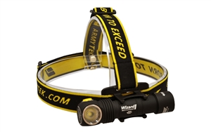 Armytek Wizard Pro v3 Magnetic USB Rechargeable Headlamp Flashlight - 2300 Lumens LED (1800 OTF)