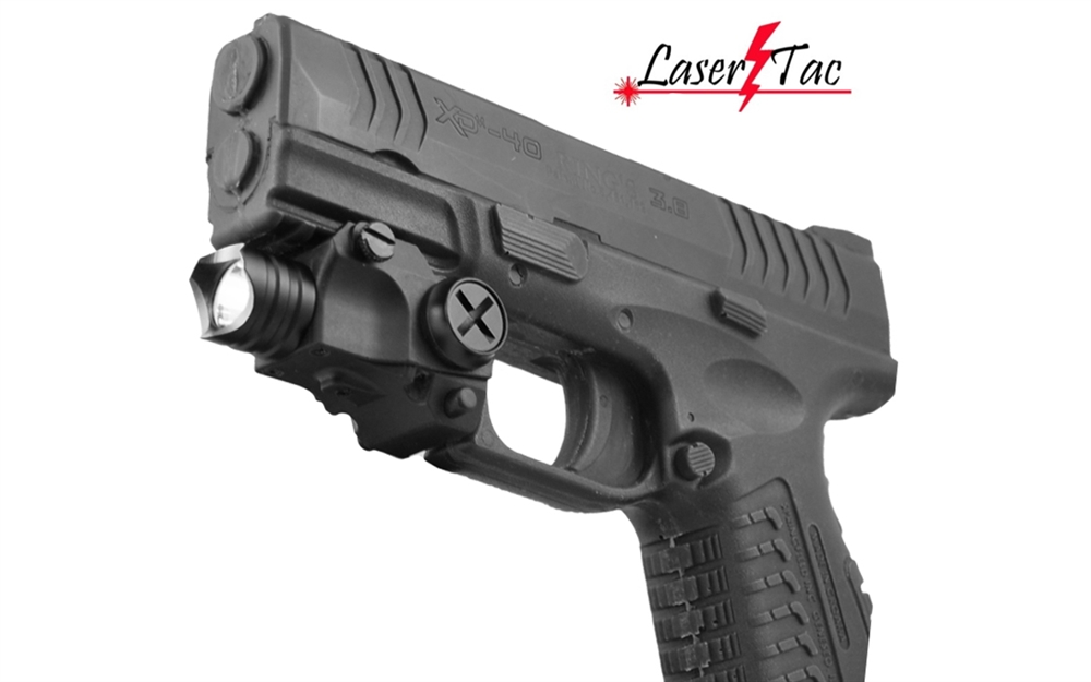 Lasertac Rechargeable Subcompact Tactical Flashlight