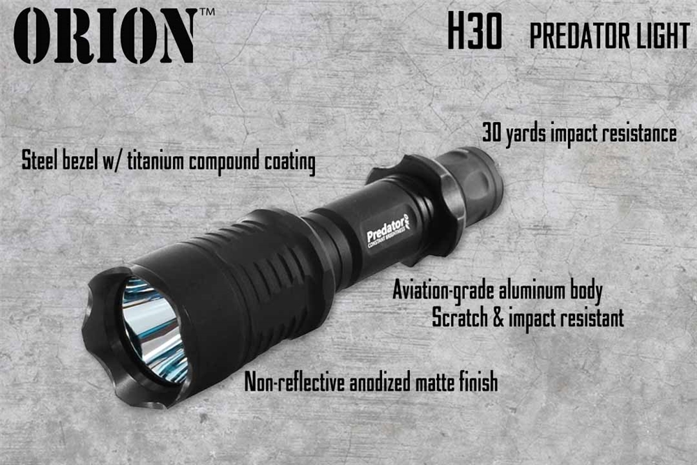 Orion Predator H30 273 Yards Hunting Light Kit
