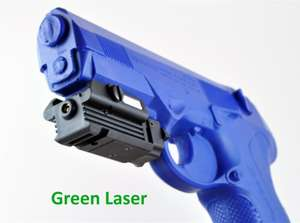 Lasertac Compact Green Laser for Rifles and Pistols