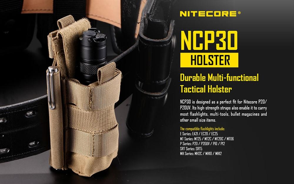 Nitecore Ncp30 Holster For Nitecore P20 And P20v