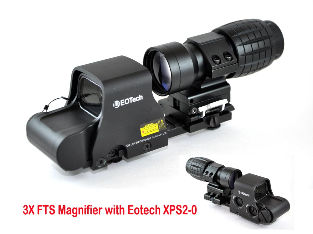 Flip To Side Mount Red Dot Magnifier Longhorn Tactical