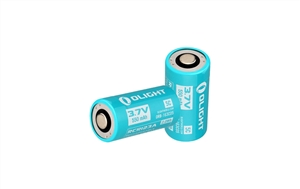 Olight Rechargeable RCR123A ORB-163C05 550mAh Battery for use with S1R Baton