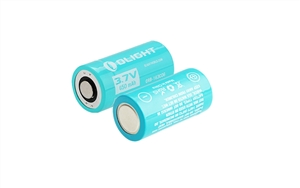 Olight Rechargeable RCR123A ORB-163C06 650mAh Battery for use with H1R Nova & S10R III