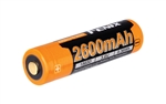 FENIX ARB-L18 2600mAH  Protected Button-Top Rechargeable 18650 Battery