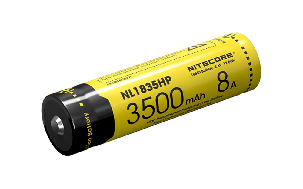 Nitecore Nl1835hp 3500mah 18650 High Performance Li Ion