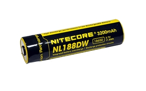 Nitecore 18650 Rechargeable Battery NL188DW 3200 mAh