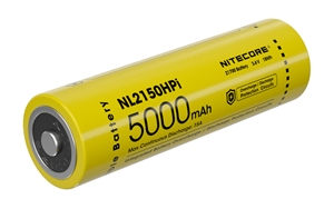 NITECORE NL2150HPi 21700 5000mAh Rechargeable Li-ion Battery