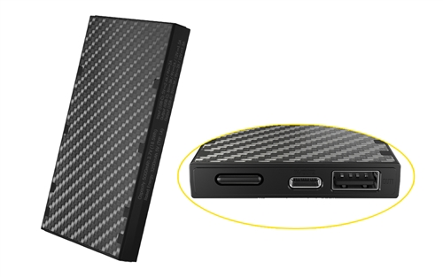 NITECORE NB5000 10000mAh QC Quick-Charge USB and USB-C Dual Output, Ultralight Carbon Fiber Power Bank