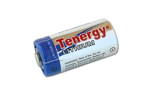 Tenergy CR123A 3V Lithium Battery