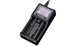 Fenix ARE-A2 Dual Channel Battery Smart Charger for 14500, 16340, 18650 Batteries and More
