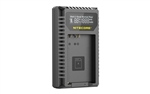 Nitecore UCN5 Dual-Slot USB-C QC Battery Charger