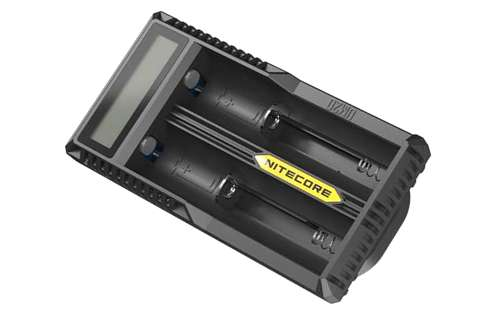 Nitecore UM20 Digital Smart Charger for 18650 17650 17670 RCR123A 16340 14500 Batteries