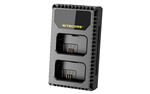 Nitecore USN1 Dual Slot Travel Charger for Sony