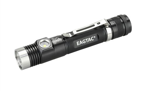 Eagletac DX30LC2-SR 1160 Lumen Rechargeable CREE XP-L HI Tactical LED Flashlight with Side Light