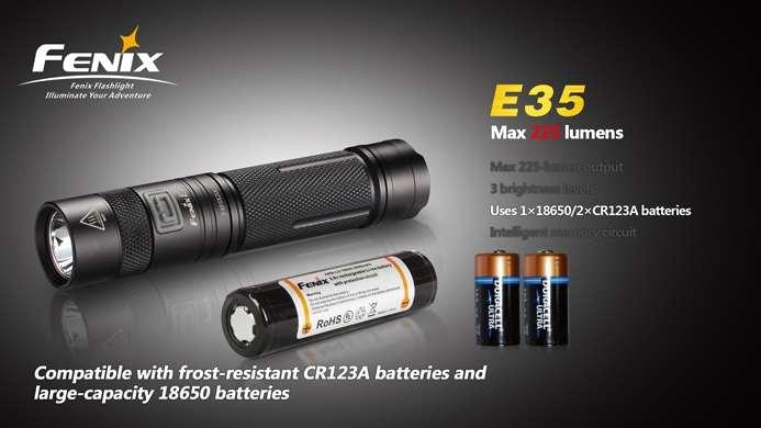 Ongebruikt Fenix E35 Pocket LED Light - 225 lumens - AI-71