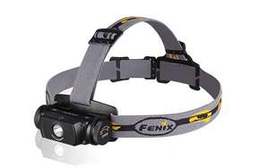 Fenix HL55 Headlight Headlamp - Use 2xCR123A or 18650 -900 Lumens