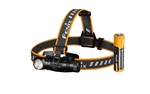 Fenix HM61R 1200 Lumen L-Shape Magnetic Rechargeable Headlamp with White & Red Lights