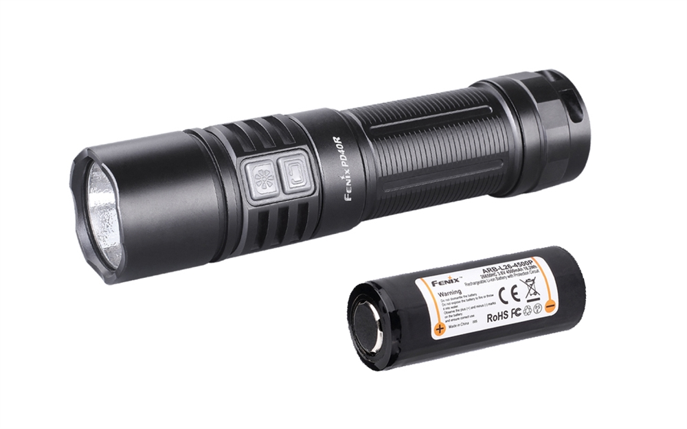 fenix pd40r 3000 lumen usb rechargeable tactical flashlight. Black Bedroom Furniture Sets. Home Design Ideas