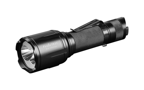 Fenix TK25 Red 100 Lumen Dual White and Red Output Tactical Hunting
