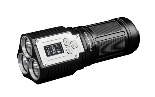 Fenix TK72R 9000 Lumen LED USB Rechargeable OLED Display Flashlight