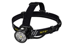 NITECORE HU60 1600 Lumen Dual-Beam Spotlight & Floodlight Focusable Headlamp with Remote Control