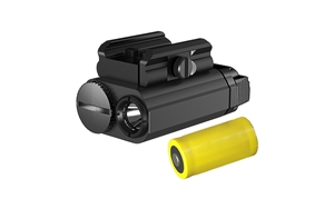 Nitecore NPL20 460 Lumens Compact Rail Mount Flashlight with Strobe