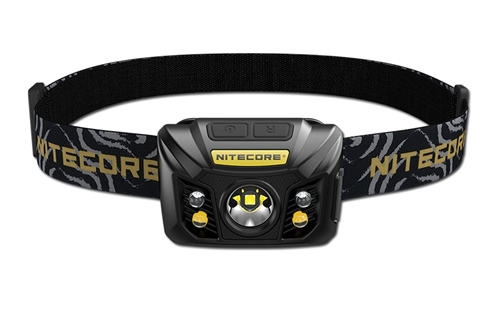 NITECORE NU32 550 Lumen LED Rechargeable Headlamp with White and Red Beams