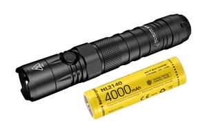NITECORE NEW P12 1200 Lumen Tactical Flashlight with 4000mAh Rechargeable Battery
