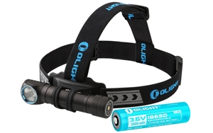 Olight H2R Nova 2300 Lumen LED Rechargeable Headlamp