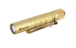 Olight I3T EOS Brass 180 Lumen AA Battery Powered LED Flashlight