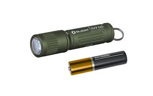 Olight I3UV EOS 395nm UV Ultraviolet Blacklight AAA Compact Keychain Light