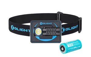 Olight Perun Mini 1000 Lumen Rechargeable Headlamp, or Right Angle EDC Flashlight