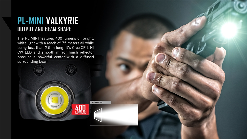 Olight Pl Mini Valkyrie 400 Lumen Magnetic Usb