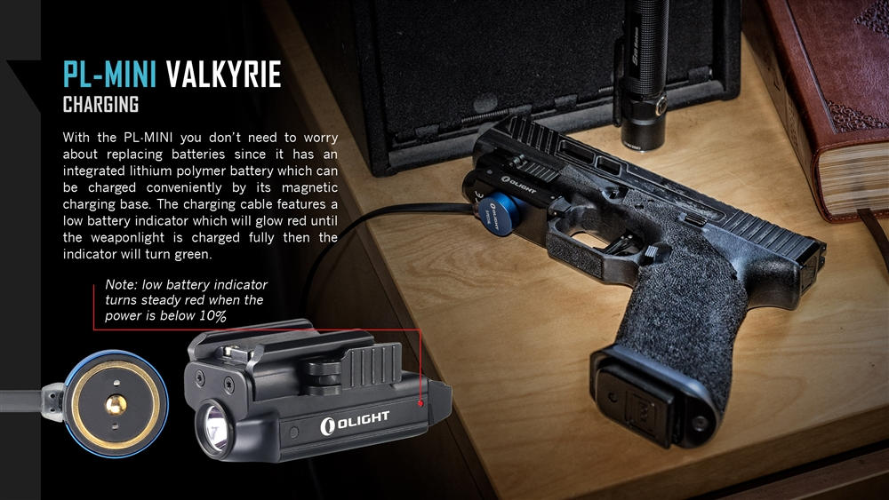 Locate My Car >> Olight PL-MINI Valkyrie 400 Lumen Magnetic USB Rechargeable LED Ultra Compact Pistol Light