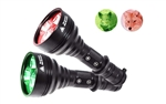Orion M30C 377 Yards Long Range Red or Green Predator Varmint Hunting Flashlight - 700 lumen