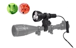 Orion M30C Green or Red 700 Lumen 377 Yards Long Range Hog Predator Varmint Coon LED Hunting Light