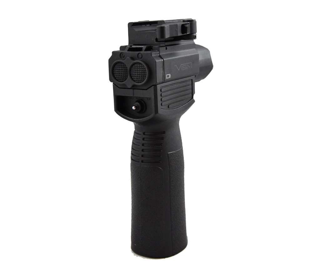 Vism Vertical Foregrip W Tactical Flashlight Green Laser