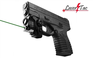Lasertac Rechargeable Subcompact Green Laser Sight Light Combo