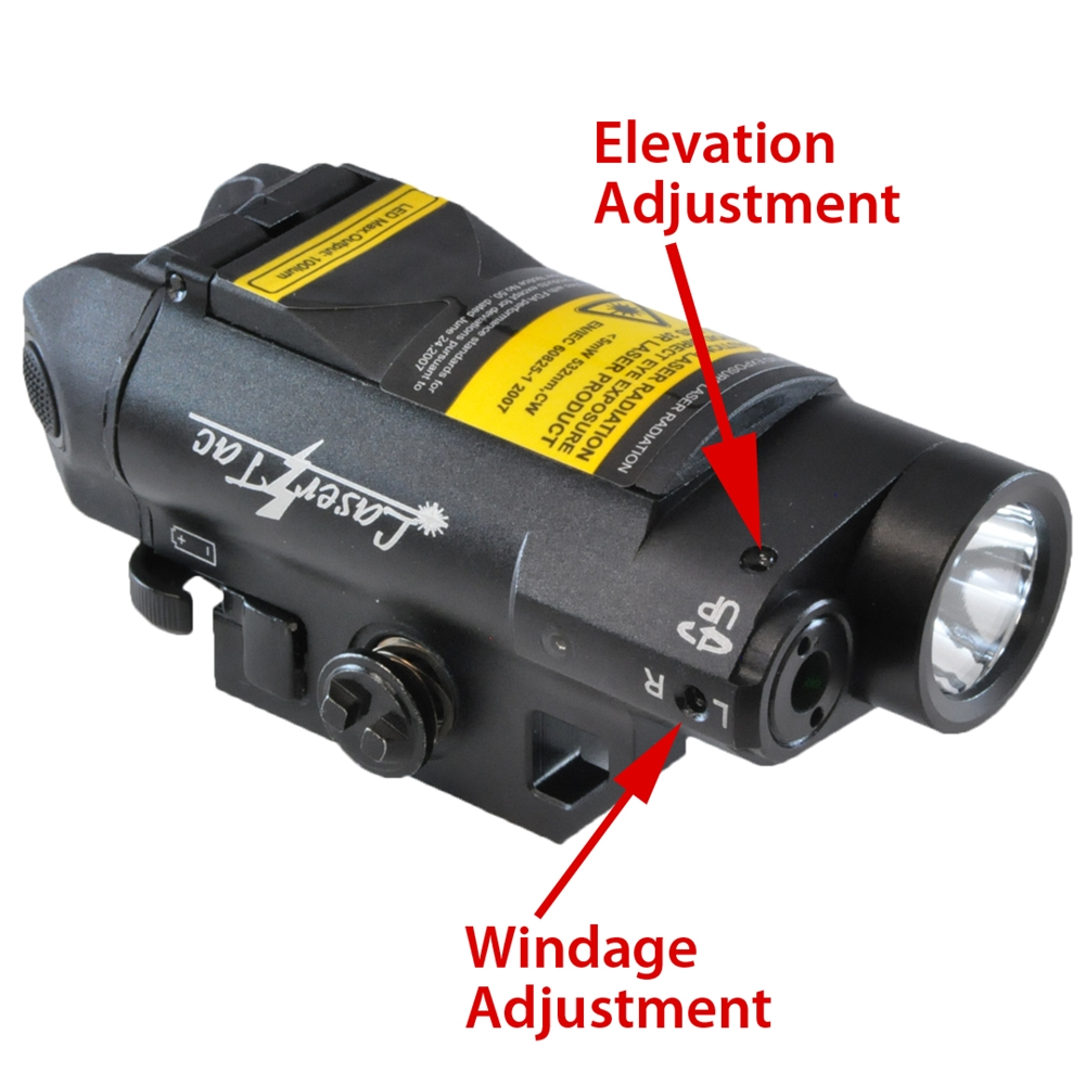 Lasertac Cl7 G Compact Green Laser Sight Tactical Light