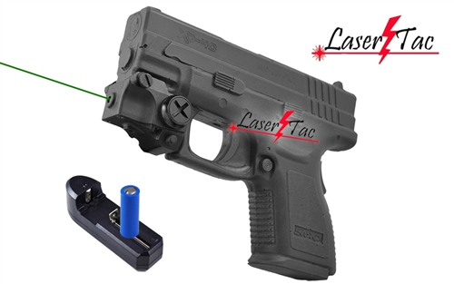 Lasertac Subcompact Green Laser Sight