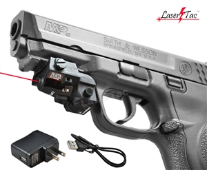 Lasertac RLX-SR Rechargeable Subcompact Red Laser Sight