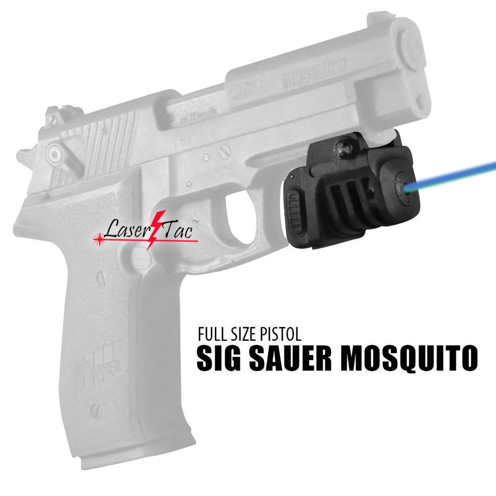 Lasertac TM Green or Red Rechargeable Laser Sight for Subcompact Pistols  and Compact Handguns